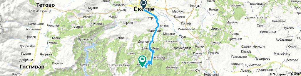Скопје - ПД Караџица