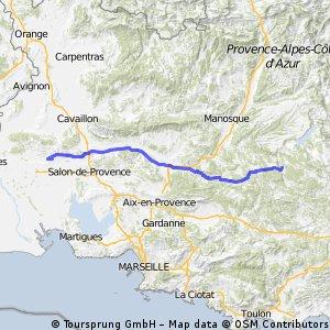 Mouriès - Montmeyan