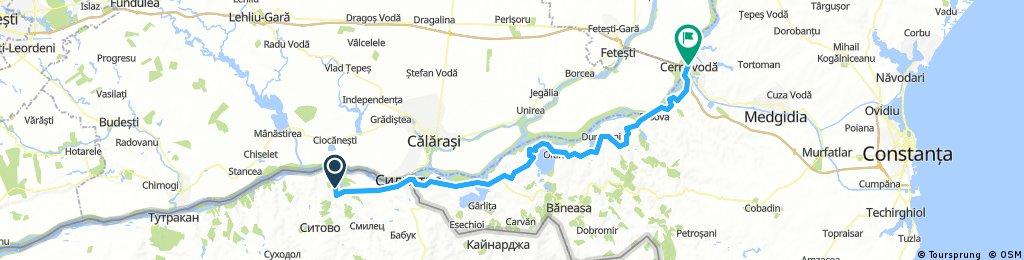 Danube route 2017 - day 7