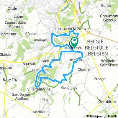 VTT MontSaintGuibert 50km 2