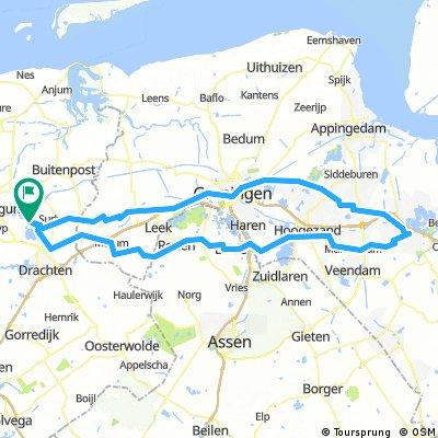 Eastermar - Heiligerlee - Eastermar 156km