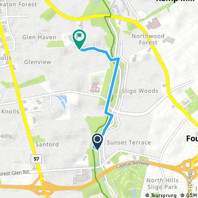 Quick bike tour through Silver Spring