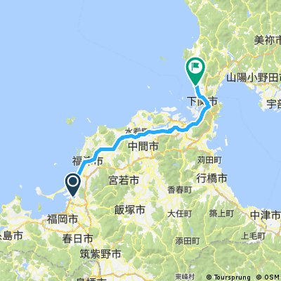 Day 1 - Fukuoka to Shimonoseki