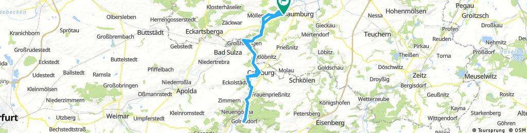 Naumburg-Golmsdorf-Naumburg