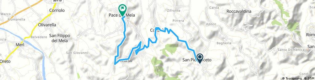 San Pier Niceto - gualtieri - soccorso - pace del mela