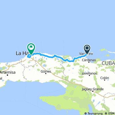 Cuba Ruta 13 Varadero-Santa Maria- Matanzas