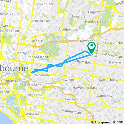 Short ride through Kew
