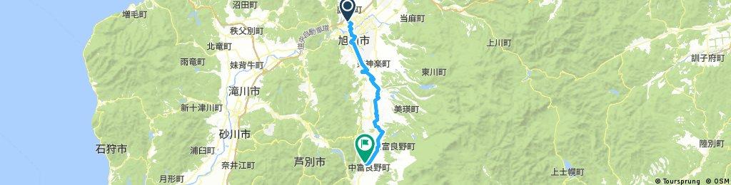 Dia 18 Asahikawa - Camping Forest Park