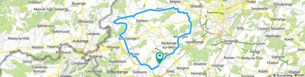 Randonnée du Cinquantenaire43km