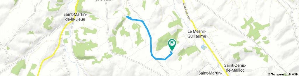 Quick ride through Saint-Martin-de-Mailloc