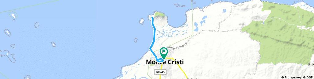 bike tour through Monte Cristi