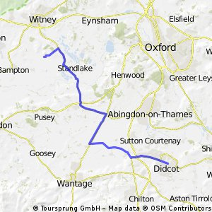 Yelford to Didcot