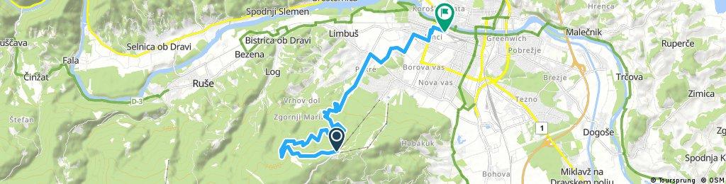 bike tour through Maribor
