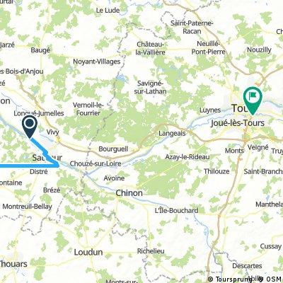 FR9 - Saumur - Tours