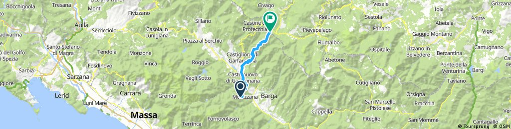 Brucciano - Castelnuovo di Garfagnana - San Pellegrino in Alpe