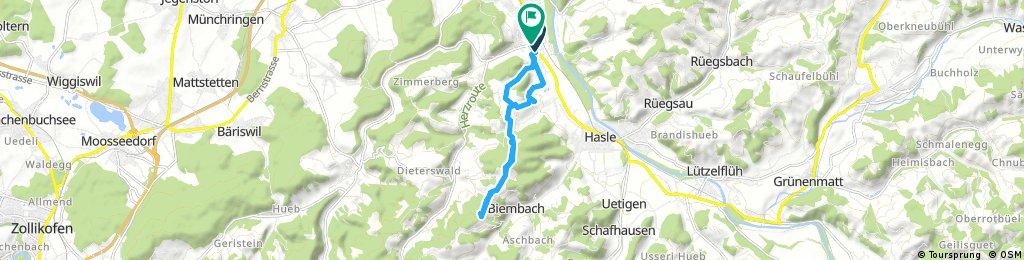 Ausfahrt durch Oberburg