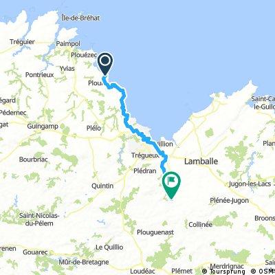 1  PLOUHA - MONCONTOUR- 61.7 KM