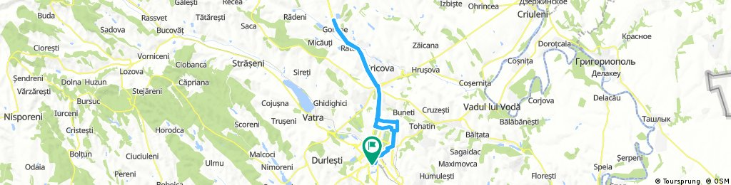 Long ride through Chișinău