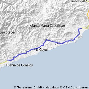 2010-03-07 La Crucesita to Morro Mazatlán