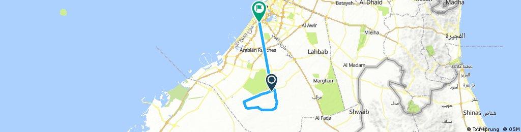 Al Qudra  50k 1st Race
