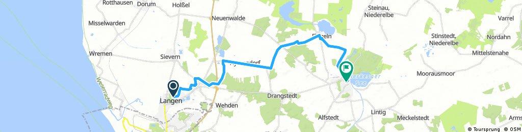 Langen-Bad Bederkesa 25 km (Nord-Schleife)