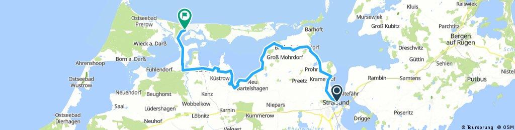 Hafen, Stralsund - Gänseweg 7, Zingst über D2 56, km