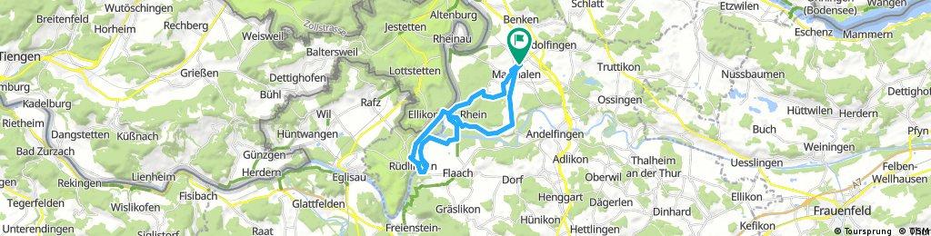 Radrunde Thurauen Flaach/Fähre Ellikon