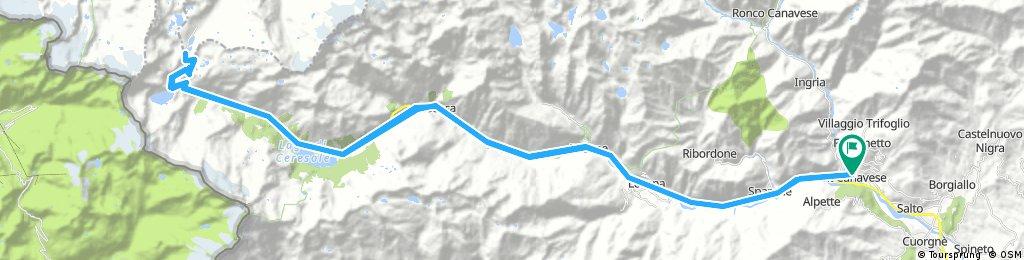 Pont Canavese - Nivolet e ritorno