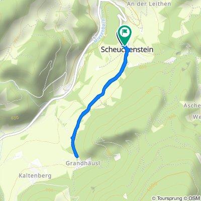 Scheuchenstein - Hausberg (Schranken) - Scheuchenstein