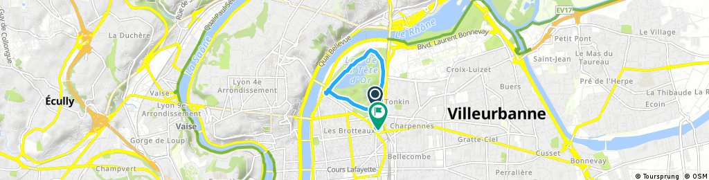 Quick ride through Lyon