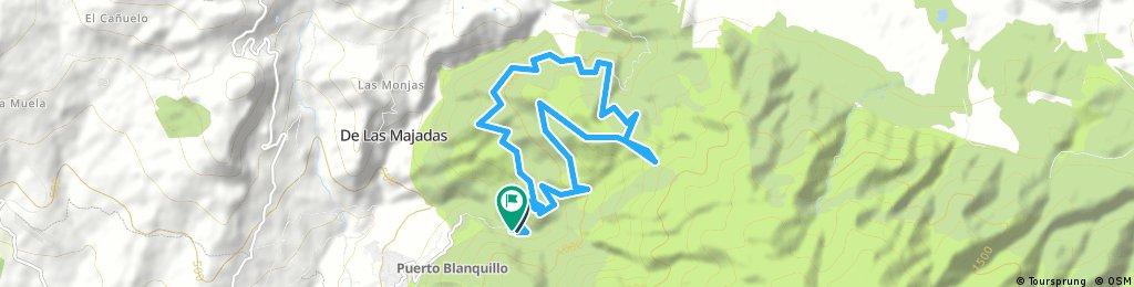 Nocturna al Pluviómetro de Alcaucín