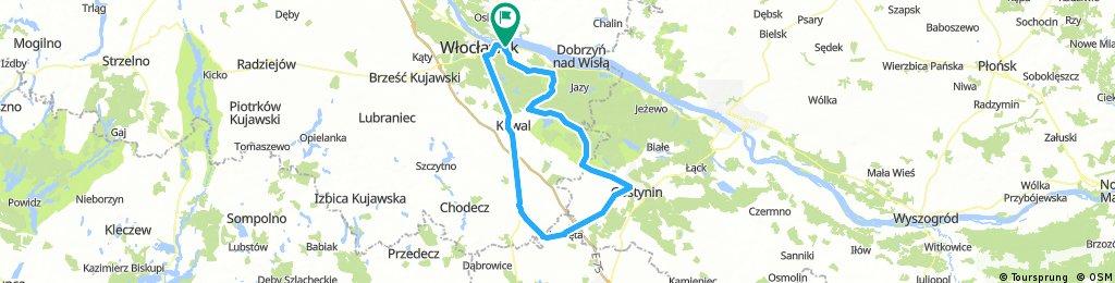 Pętla Włocławek - Gostynin - Lubień Kujawski - Włocławek