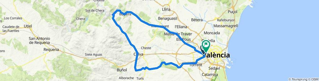 GESTALGAR,  vuelta por Chiva y Cuatro Caminos