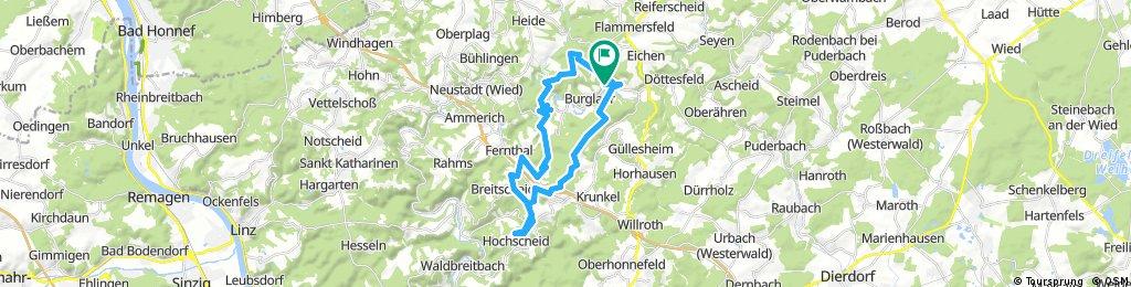 1.Oberlahr - Düsternau- Hochscheid- Oberlahr
