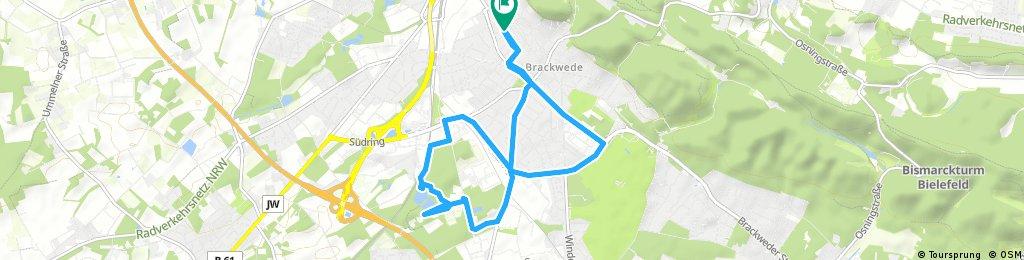 Radrunde durch Bielefeld