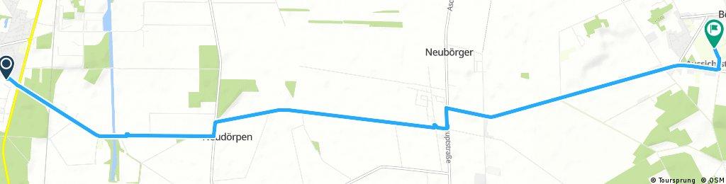 Radtour zum Schloss Clemenswerth