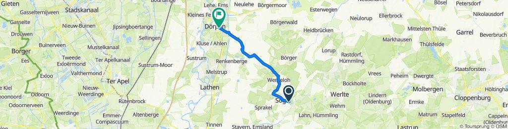 Radtour zum Schloss Clemenswerth(Teil3)