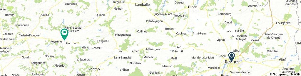 Scheiße - Rennes nach Carhaix