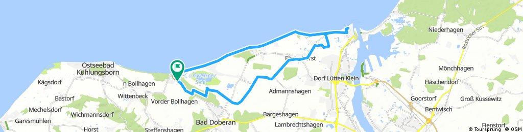 Ostsee: Heiligendamm, Warnemünde und zurück
