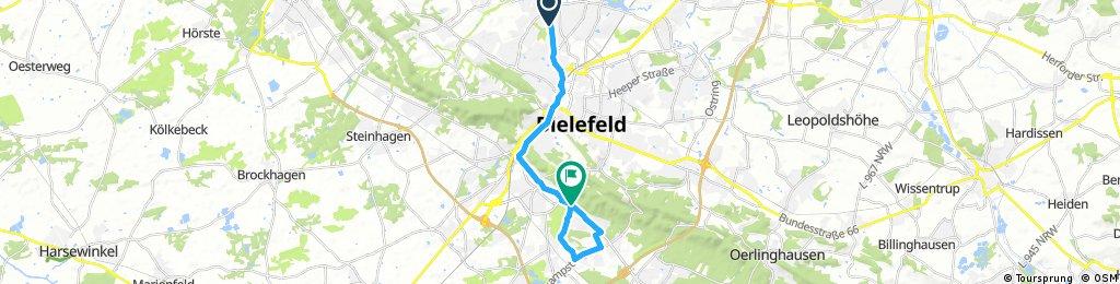 Bielefeld - Nordsüdpassage & Flugplatzrunde