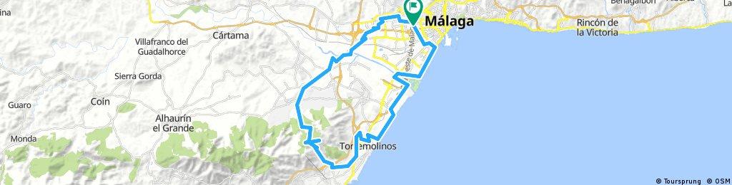 Málaga - Cañada del Lobo - Málaga