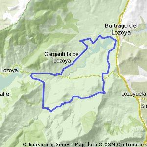 Pinilla de Buitrago-Canencia-Garganta de los Montes