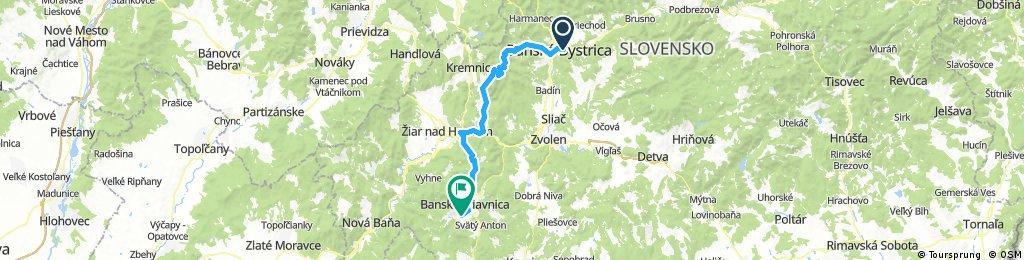 Stiavnica bike tour 2017