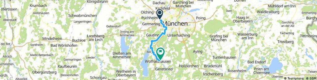 Hinfahrt Wolfratshausen 13.06.2017