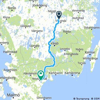 Alternativ cykelväg Skåne