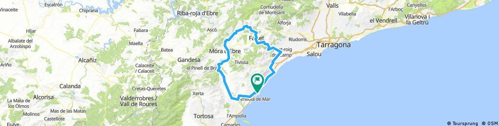 Tour de Spanien Gratallops 130km/1450vm