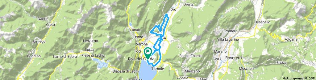 Riva del Garda- Arco-Padaro-Santa Maria di Laghel