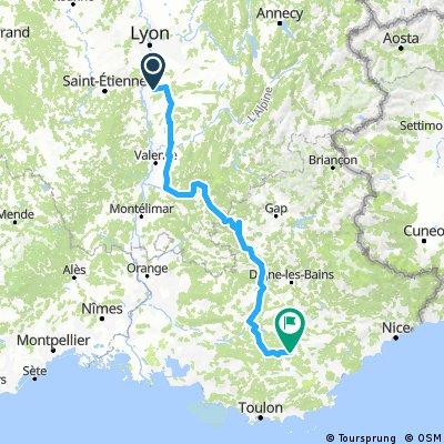 vernioz/sillans itinéraire 1