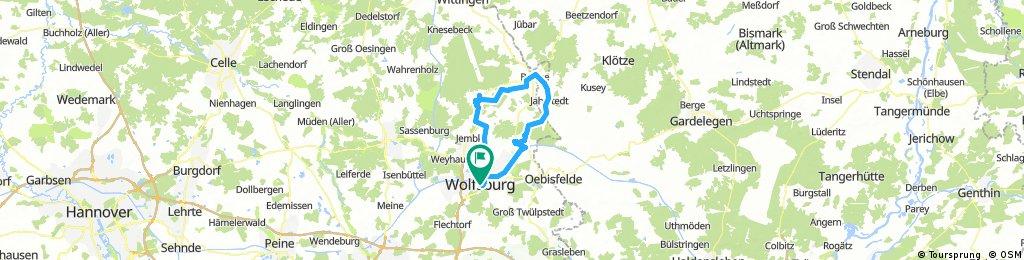 Lange Radrunde durch Wolfsburg