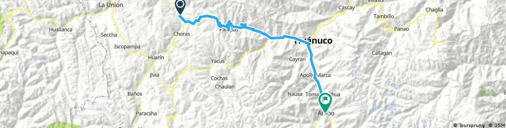 Long bike tour from 3 juillet 07:05